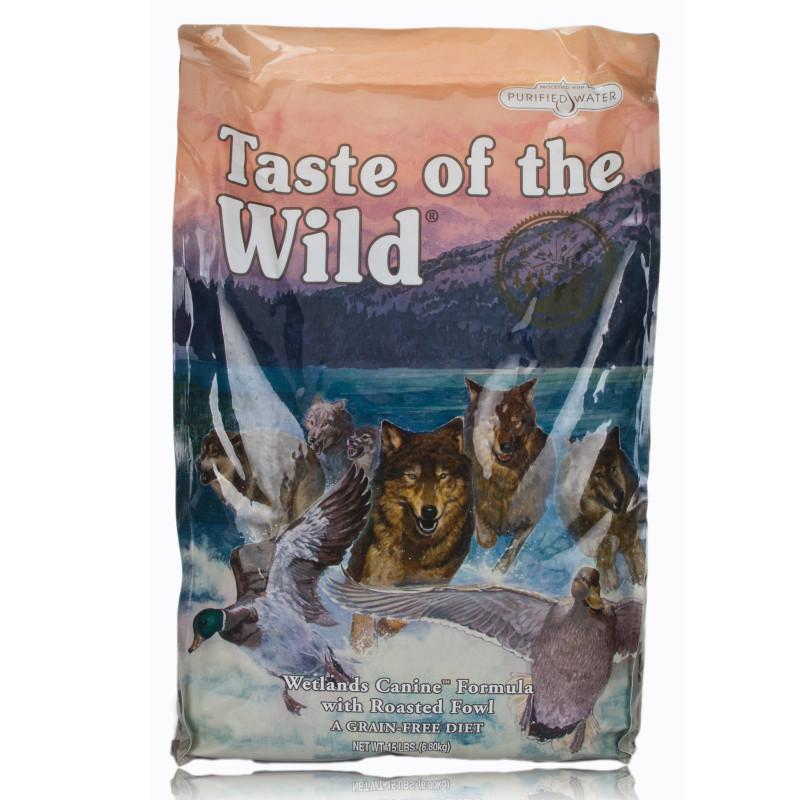 Taste Of The Wild Wetland W Roast Fowl 30 Lb Dry Dog
