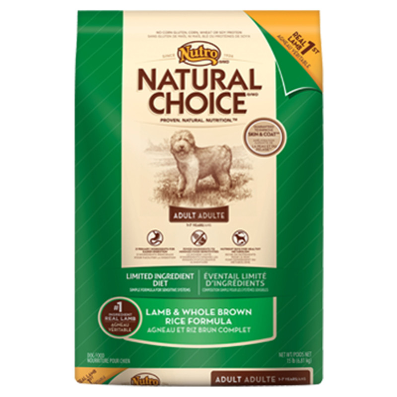 Nutro Large Breed Adult Lamb Rice Dog Food