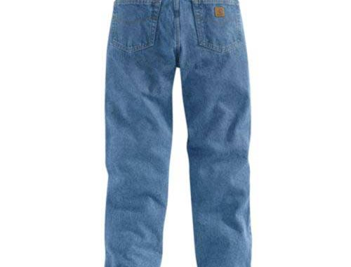 B17 Relaxed Fit Jean_back view
