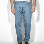 Levi's 550 Mens Relaxed Fit Jeans | Medium Stonewash