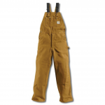 R01 - Duck Bib Overall / Unlined