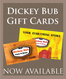 Dickey Bub Gift Cards