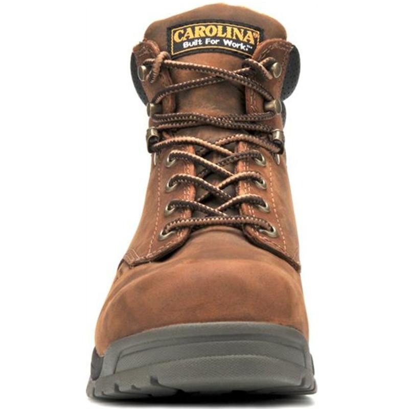 "7b7cb596296 Carolina Men's 6"" Waterproof Broad Toe Work Boot – CA5020"