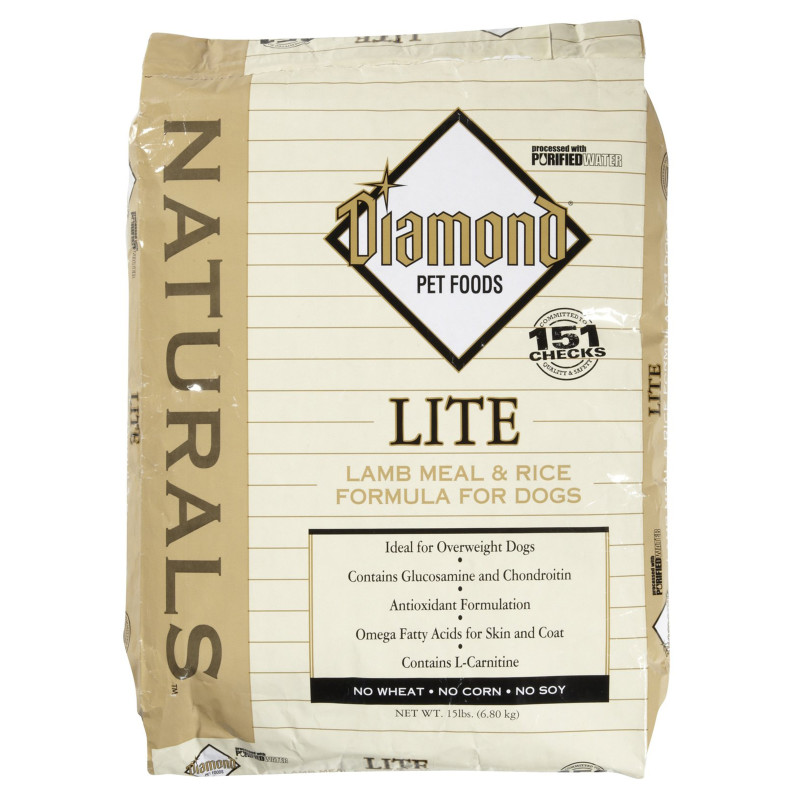 Diamond Naturals Lamb & Rice Lite 30 lb. Dry Dog Food