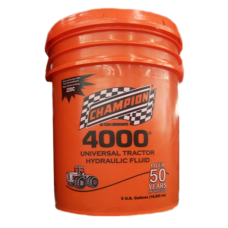 Champion 4000 Universal Tractor Hydraulic Fluid – 5 Gallon 4000D 904216