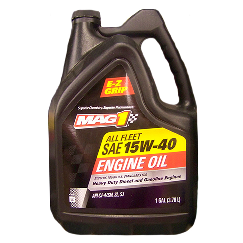 Mag 1 All Fleet Sae 15w 40 Engine Oil 1 Gallon Mg01543p