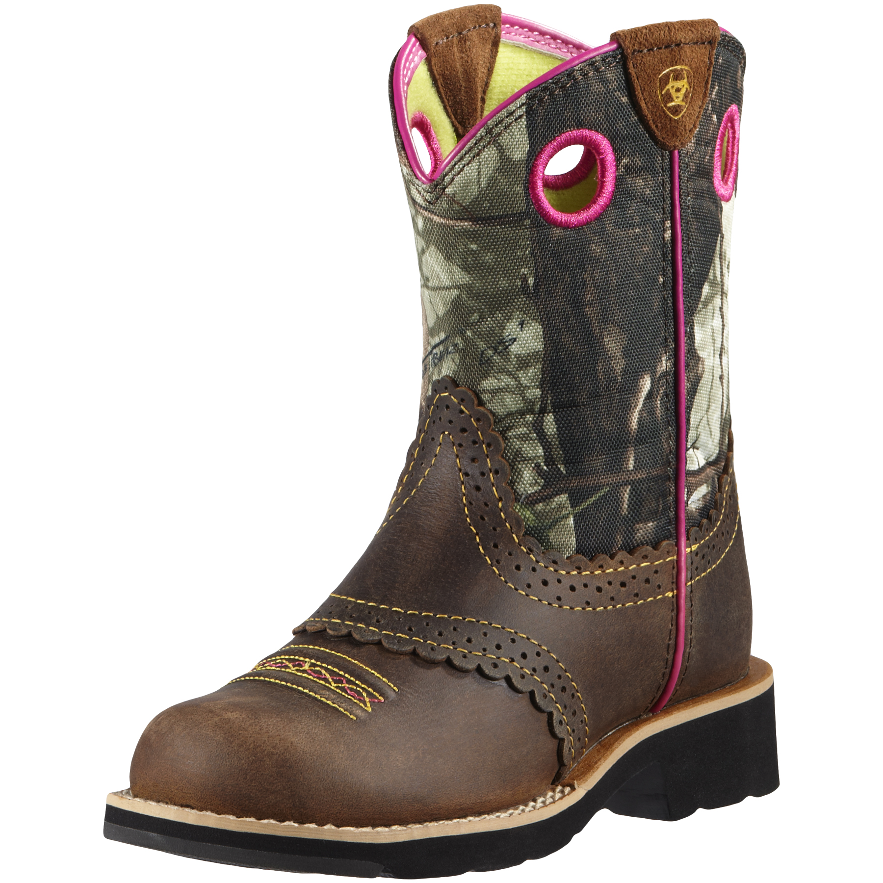 Girl's Ariat Fatbaby Camo Cowgirl Boots #10008724 |