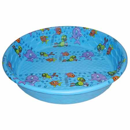 4 ft plastic swim pool 771162 for Plastik pool rund
