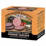 craked pepper and garlic summer sausage